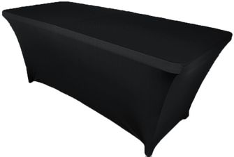 6 Ft (200 GSM) Rectangular Spandex Table Covers (39 Colors)