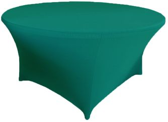 6 Ft Round Spandex Table Cover - Oasis 64458 (1pc/pk)