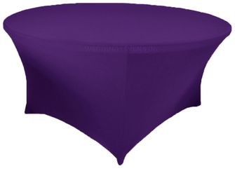 6 Ft Round Spandex Table Cover - Regency 64463 (1pc/pk)