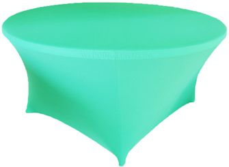 "6 Ft / 72"" (200 GSM) Round Spandex Table Covers (38 Colors)"