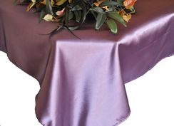 72x120 Rectangular Satin Tablecloths (56 colors)