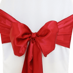 "8""x108"" Satin Chair Sashes (57 Colors)"
