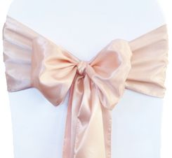 8x108 Satin Sashes(56 Colors)