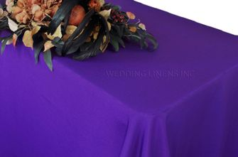 "90"" x 132"" Rectangle Polyester Tablecloth - Regency 53263(1pc/pk)"