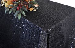 "90""x132""  Rectangle Seamless Sequin Tablecloths (19 Colors)"