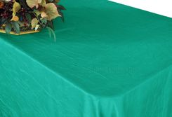"90""x156"" Rectangle Crushed Taffeta Tablecloth - Jade 61826(1pc/pk)"