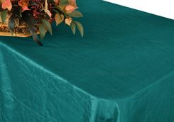 "90""x156"" Rectangle Crushed Taffeta Tablecloth - Oasis 61858(1pc/pk)"