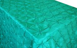 "90""x156"" Rectangle Pinchwheel Taffeta Tablecloth - Jade 66826(1pc/pk)"