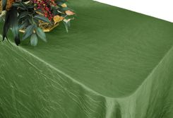 "90""x156"" Rectangle Crushed Taffeta Tablecloth - Clover 61848(1pc/pk)"