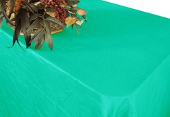 "90""x156"" Rectangle Crushed Taffeta Tablecloth - Tiff Blue / Aqua Blue 61818(1pc/pk)"