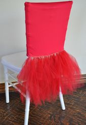 Ballerina Spandex Chiavari Chair Covers - Apple Red 62208 (1pc/pk)