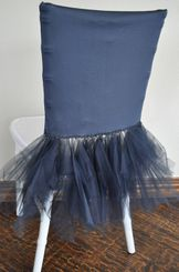 Ballerina Spandex Chiavari Chair Covers - Pewter 62260 (1pc/pk)