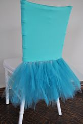 Ballerina Spandex Chiavari Chair Covers - Tiff Blue / Aqua Blue 62218 (1pc/pk)