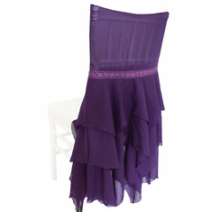 Chiffon Chiavari Chair Covers  ( 8 Colors)