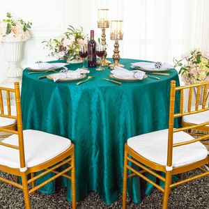 Crushed Crinkle Taffeta Tablecloths