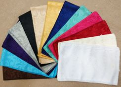 Jacquard Damask Polyester Chair Sash Sample Lot 96200 (14pcs/pk)