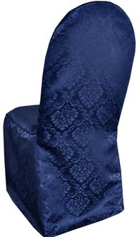 Damask Banquet Marquis Jacquard Polyester Chair Covers (11 Colors)