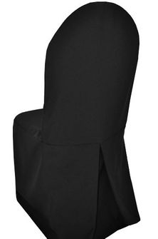 Polyester Banquet Chair Cover - Black (1pc/pk)