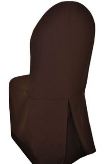 Polyester Banquet Chair Cover - Chocolate (1pc/pk)