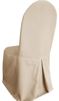 Polyester Banquet Chair Covers - Champagne 52528 (1pc/pk)