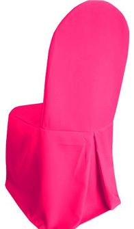 Polyester Banquet Chair Covers - Fuchsia 52509 (1pc/pk)