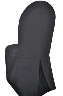 Polyester Banquet Chair Covers - Pewter / Charcoal 52560 (1pc/pk)