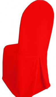 Polyester Banquet Chair Covers - Red 52512 (1pc/pk)