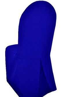 Polyester Banquet Chair Covers - Royal Blue 52522 (1pc/pk)