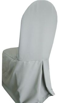 Polyester Banquet Chair Covers - Silver 52540 (1pc/pk)