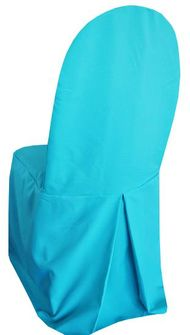 Polyester Banquet Chair Covers - Turquoise 52585 (1pc/pk)