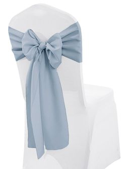 """Polyester Chair Sashes - 8""""x 108"""" (27 colors)"""