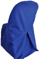 Polyester Folding Chair Cover - Navy Blue 52323 (1pc/pk)