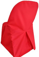 Polyester Folding Chair Cover - Red 52312 (1pc/pk)