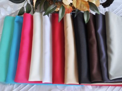 """20""""x 20"""" Polyester (200 GSM) Napkins (27 colors)"""