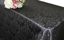 Rectangle Damask Jacquard Polyester Tablecloths (3 sizes)
