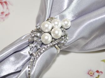 Rhinestone Napkin Ring - Shooting Star 72416 (1pc/pk)