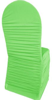 Rouge Spandex Banquet Chair Covers - Apple Green 62537 (1pc/pk)
