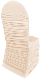 Rouge Spandex Banquet Chair Covers - Blush Pink 62515 (1pc/pk)