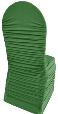 Rouge Spandex Banquet Chair Covers - Clover 62548 (1pc/pk)