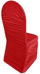 Rouge Spandex Chair Covers - AppleRed 62508(1pc/pk)