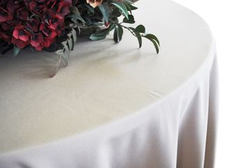 Round Polyester Tablecloths (4 sizes)