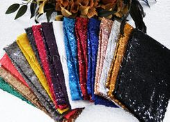 "Sample 20""x20"" Sequin Napkins (18 colors)"