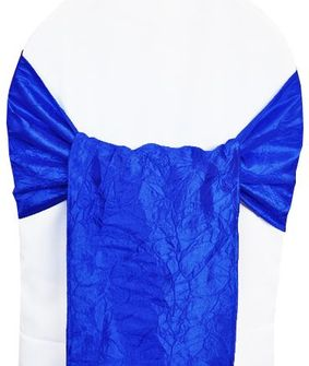 Sample Crushed Taffeta Sash - Royal Blue 61122(1pc)