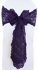 Sample Lace Chair Sash - Regency 90163(1pc)