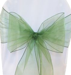Sample Organza Sash - Clover(1pc)