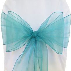 Sample Organza Sash - Jade(1pc)