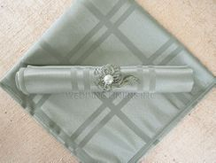 "20"" x 20"" Sample Plaid Jacquard Polyester Napkins (6 colors)"