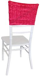 Sequin Spandex Chair Caps (17 Colors)