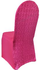 Sequin Spandex Chair Covers (17 Colors)