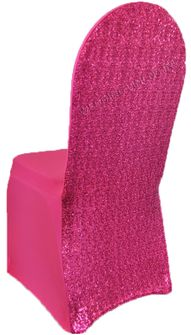 Sequin Spandex Chair Covers (18 Colors)